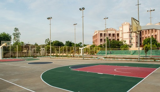 Basketball Court, NIT Trichy